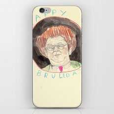 Happy Bruleday iPhone & iPod Skin