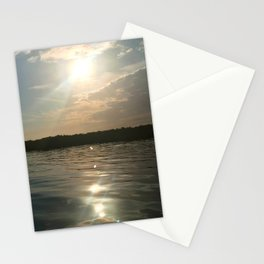 River Sun Stationery Cards