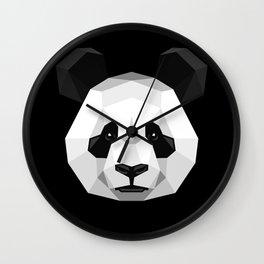 Geometric Panda Wall Clock