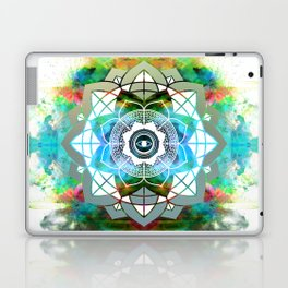 Atmospheric Mandala 0354 Laptop & iPad Skin