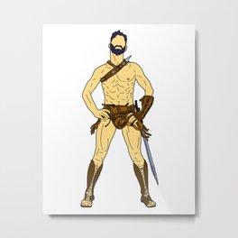 Gladiator Warrior 2 Metal Print