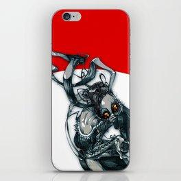 demon rabbit iPhone Skin