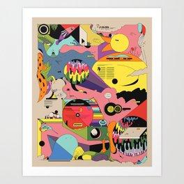 Climate Jazz Art Print