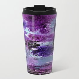 Purple Explosion Travel Mug