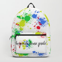 hogwarts house pride Backpack