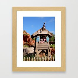 MAGIC KINGDOM: Brer Rabbit at Splash Mountain Framed Art Print