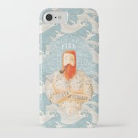 ocean iPhone & iPod Cases featuring Sailor by Seaside Spirit