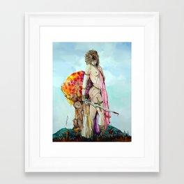 Dragoness Framed Art Print