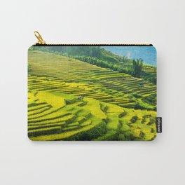 Viet Nam  Art Print, Sapa Rice Terrace, Paddy field, Wall Art Decor, Travel Poster, Fine Art Print Shop Carry-All Pouch