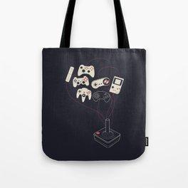 Videogame Tote Bag