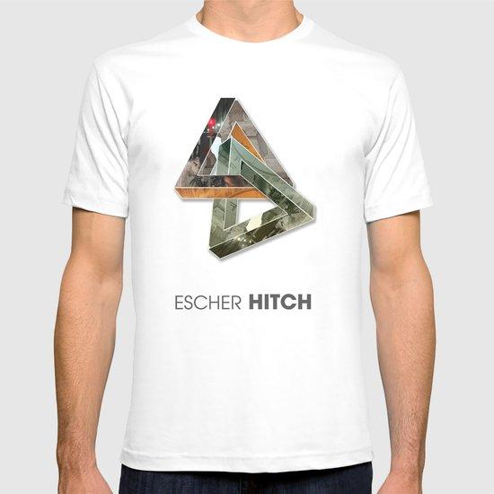 escher hitch T-shirt