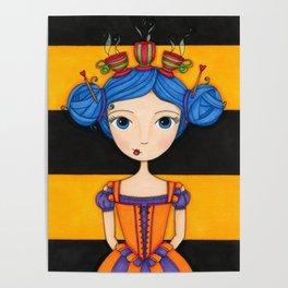 River the Tea Girl Poster