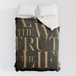 John 14:6 II Comforters