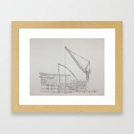 Chicago - Construction Framed Art Print
