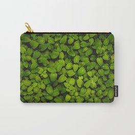 Lush (green leaves) Carry-All Pouch