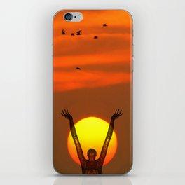 Gratitude iPhone Skin