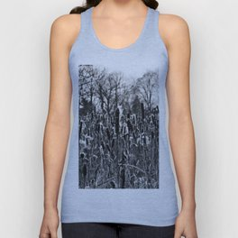 Winter Poetry of the Grasses Unisex Tank Top