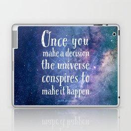 The universe conspires Laptop & iPad Skin
