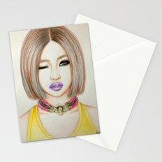 Minzy Gong (2NE1) Stationery Cards
