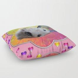 Lovely possum Floor Pillow