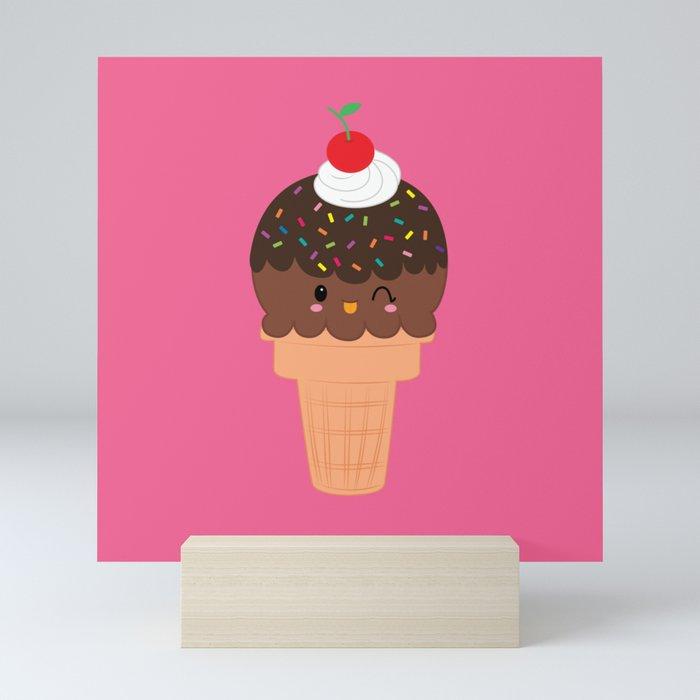 Ice Cream No. 4 Mini Art Print