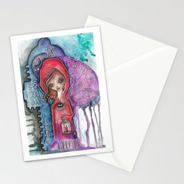 The Hermit - Tarot Inspired Watercolor Stationery Cards