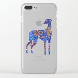 Azawakh Totem Clear iPhone Case