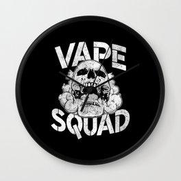 Vape Squad Wall Clock
