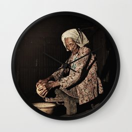 Grandmother 04 Wall Clock