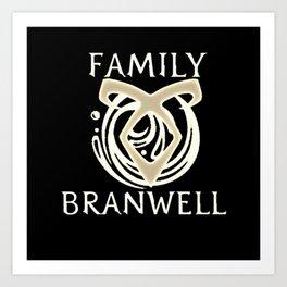family branwell Art Print