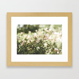 Flowers in my Hair Framed Art Print