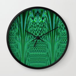 Waves 4 - Fractal Wall Clock