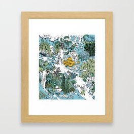Kitchen Garden Framed Art Print