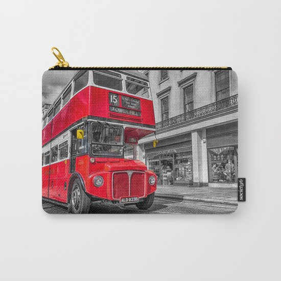 London Routemaster 15 Carry-All Pouch