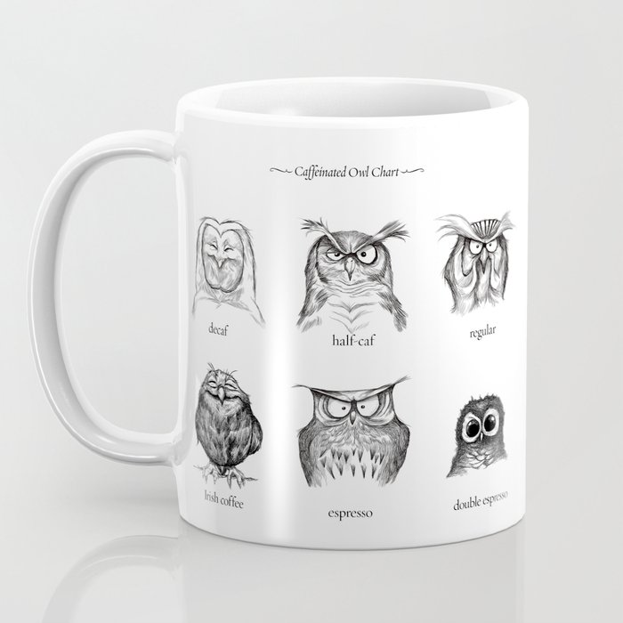 Caffeinated Owls Kaffeebecher