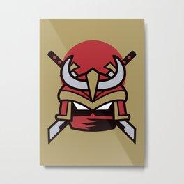 Way of the Samurai Metal Print
