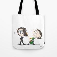 My enemy's enemy... Tote Bag
