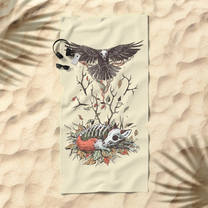 Eternal Sleep Beach Towel