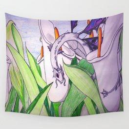 Little Fey Dragon Wall Tapestry