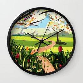 PrimaYvera Wall Clock
