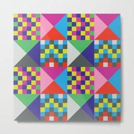 geometric//pattern//amazin-ness Metal Print