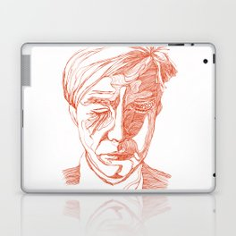 Andy portrait (Red) Laptop & iPad Skin