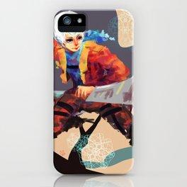 3d Maneuver Frost iPhone Case