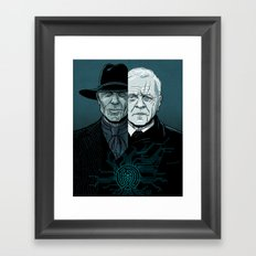 WEST 2 Framed Art Print