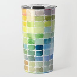 Color Mosaic Travel Mug