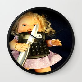 Miss Merry Sunshine Wall Clock