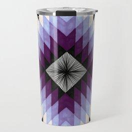 Cosmic Eye - Peach/Plum Travel Mug