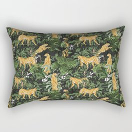 Cheetah in the wild jungle Rectangular Pillow