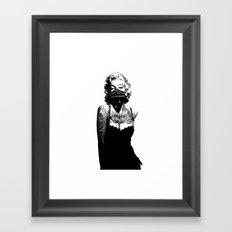 Marilyn Monroe INKED Framed Art Print