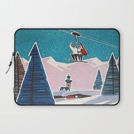 Bavaria, Germany Vintage Ski Travel Poster Laptop Sleeve